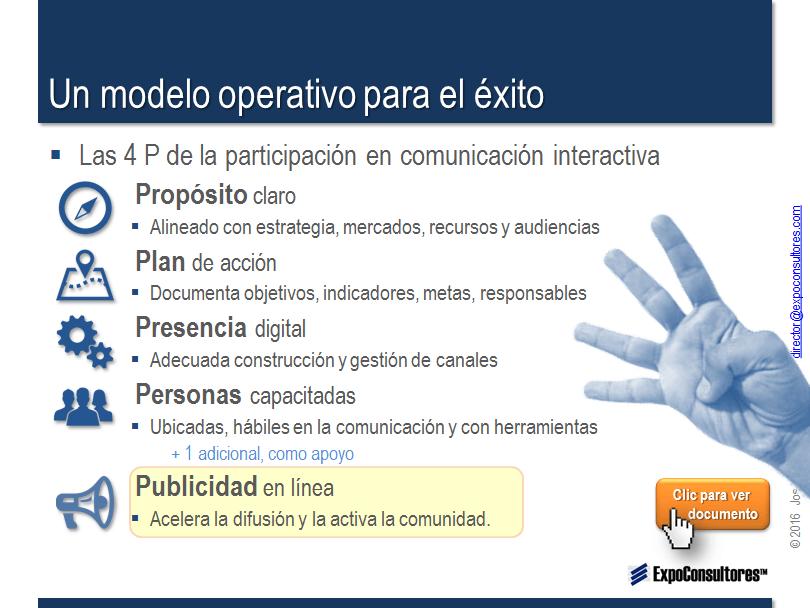 metodología de marketing 5P ExpoConsultores